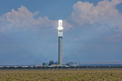 Concentrated Solar Power Plant Royalty Free Stock Images