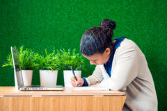 Concentrated work Royalty Free Stock Images