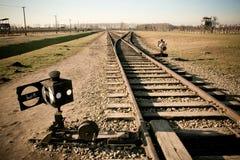 Concentratiekamp in Polen stock fotografie