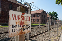 Concentration camp Stock Images