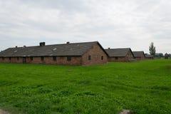 Concentration camp. Auschwitz Birkenau Royalty Free Stock Photo