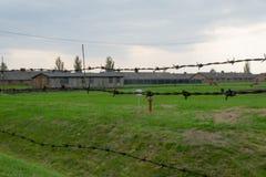 Concentration camp. Auschwitz Birkenau Stock Photos
