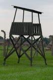 Concentration camp. Auschwitz Birkenau Royalty Free Stock Image