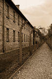 Concentration camp - Auschwitz-Birkenau,history Stock Images