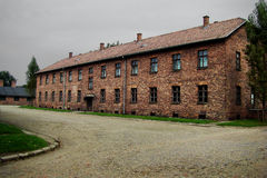 Concentration camp - Auschwitz-Birkenau,history Royalty Free Stock Image