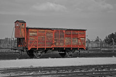 Concentration camp - Auschwitz-Birkenau,history Royalty Free Stock Photos