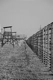 Concentration camp - Auschwitz-Birkenau,history Royalty Free Stock Photography