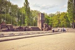 Concentration camp Auschwitz Birkenau II in Brzezinka, Poland. Stock Photo