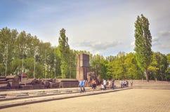 Concentration camp Auschwitz Birkenau II in Brzezinka, Poland. Royalty Free Stock Images