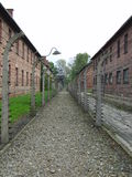 Concentration Camp Stock Photo