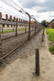 Concentration camp Auschwitz Stock Images