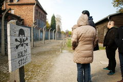 Concentration Camp Auschwitz ,Lager 1. Royalty Free Stock Photo