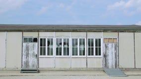 Concentration camp barrack