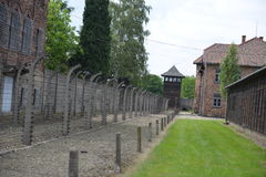 Concentration camp Royalty Free Stock Photography