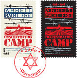 Concentration Camp Design Royalty Free Stock Images