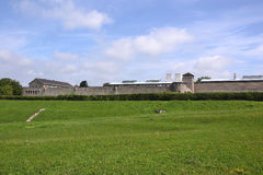 Concentration camp of Mauthausen Stock Images