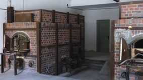 Concentration Camp Memorial Site in Dachau stock footage