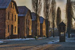 Concentration camp Oswiecim / Auschwitz,Poland royalty free stock photography