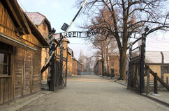 Concentration camp Oswiecim / Auschwitz,Poland Royalty Free Stock Photos