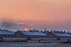 Concentration camp Oswiecim / Auschwitz,Poland Royalty Free Stock Photos