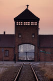 Concentration camp Oswiecim / Auschwitz,Poland Stock Image