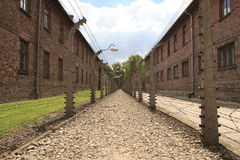 Concentration camp Oswiecim - Auschwitz,Poland Royalty Free Stock Photo