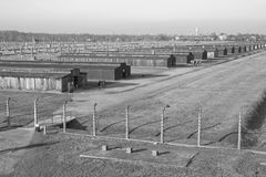 Concentration camp in Poland Royalty Free Stock Photo