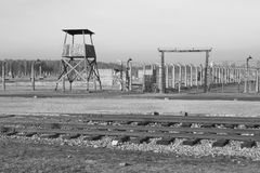 Concentration camp in Poland Stock Photography