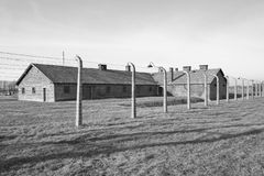 Concentration camp in Poland Stock Images