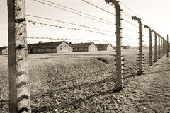 Concentration camp in Poland Royalty Free Stock Image