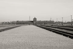 Concentration camp in Poland Stock Photo