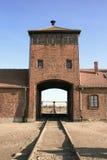Concentration camp in Poland stock photos
