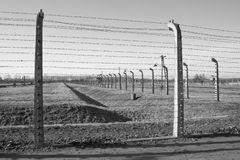 Concentration camp in Poland Stock Image