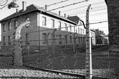 Concentration camp in Poland Royalty Free Stock Images