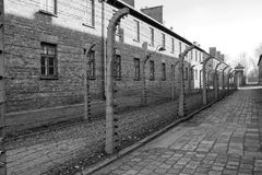 Concentration camp in Poland Stock Photos