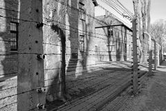 Concentration camp in Poland Royalty Free Stock Photos