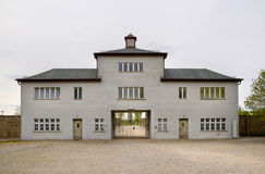 Concentration camp in Sachsenhausen Stock Photos