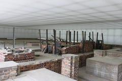 Concentration camp of Sachsenhausen - Berlin. Memorial and Museum Sachsenhausen - Berlin Stock Image