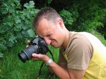 Concentration dans l'instruction-macro Photos stock