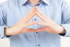 Concentration hakini mudra Royalty Free Stock Photo