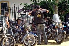 Concentrazione 02 dei motociclisti Fotografia Stock Libera da Diritti