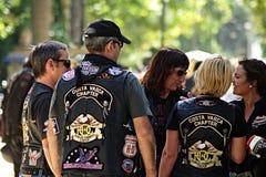 Concentrazione dei motociclisti Immagini Stock Libere da Diritti
