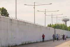 Concentri per il rimpatrio del ` Isonzo di Gradisca d Fotografie Stock Libere da Diritti