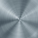 Concentric brushed metal texture Royalty Free Stock Images