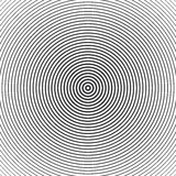 Concentric circle elements. Vector illustration for sound Stock Image