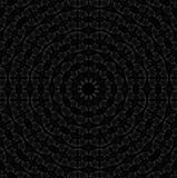 Concentric circle ornament dark brown gray. Abstract geometric seamless background. Concentric circle pattern in dark brown and gray shades Royalty Free Stock Images