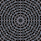 Concentric circle ornament gray brown black Royalty Free Stock Photography