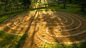 Concentric circles Stock Photos