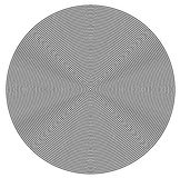 Concentric circles from center texture Royalty Free Stock Image