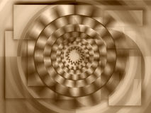 Concentric circles Stock Photo